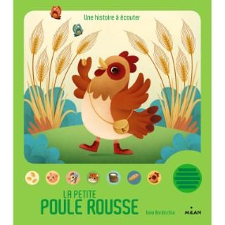 La Petite Poule Rousse Contes et Comptines à Écouter 1 à 3 ans Éditions Milan 229831