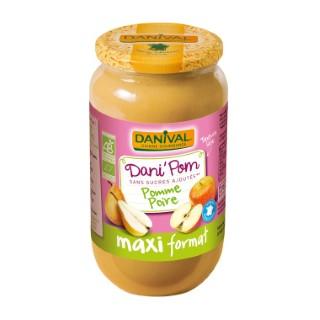 Dani'Pom Pomme Poire bio - 1,075 kg 230253