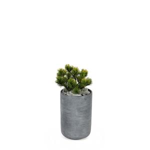 Pot rond STREAM Anthracite Ø.27 x H.40 cm 230292