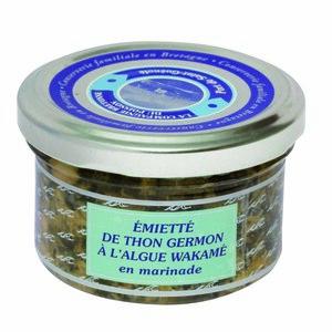 Tartare d'émietté de thon à l'algue Wakame - 90 gr 230440