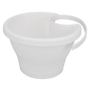 Pot CORSICA gouttière Elho blanc - 26x24 cm 231055
