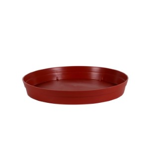 """Soucoupe """"STYLE"""" Piment D.40 x H5,8 cm 231243"""