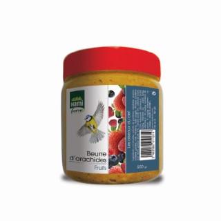 Beurre d'arachides avec fruits en pot de 550 g 231378