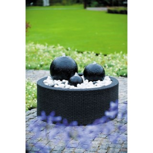 Kit fontaine de jardin Ubbink Acqua Arte London avec éclairage LED 232694