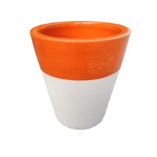 Pot Cycas lisse bicolore H 35 x Ø 32 cm 232732