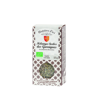 Mélange herbes des garrigues de Provence Histoire d'ici 25 g 232806