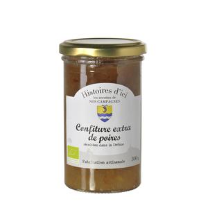 Confiture de Poires bio de la Drôme Histoire d'ici 300 g 233289