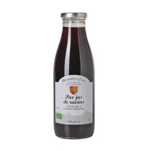 Pur Jus De Raisin 100 % Bio Languedoc Histoire D'ici 75 Cl 233395