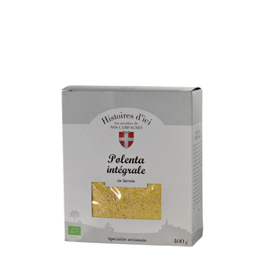 Polenta integrale bio Histoire d'ici 400 g 233420