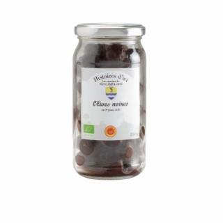 Olives noires de Nyons AOP Bio 120 g 233422