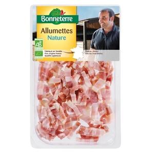 Allumettes de lardons nature 100 g 233606