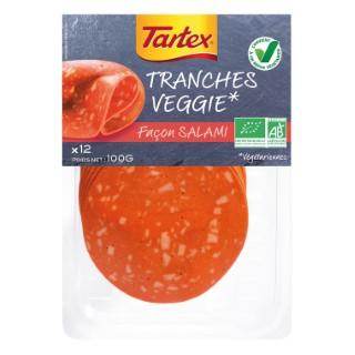 Tranches veggie façon salami 100 g 233615