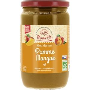 Purée de Pomme Mangue bio - 680 gr 233623
