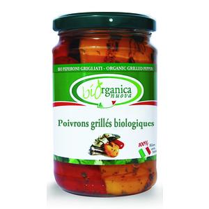 Poivrons grillés bio - 190 gr 233630