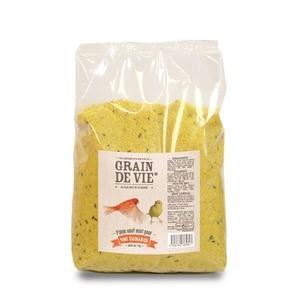 Pâtée élevage aux œufs et au miel pour canari 1kg 233849