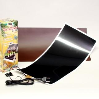 Terratemp heatmat noir 25 w de 28 x 60 cm 234212