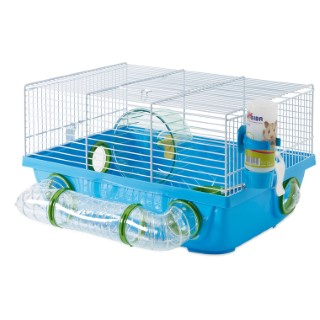 Cage Billy Métro Bleu 42.5x38x23 cm 234278