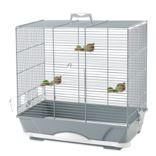 Cage primo 40 argent 46x32xH48 cm 234299