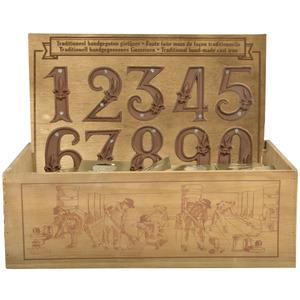 Caisse numéros de maison 25x35x27 cm 234408