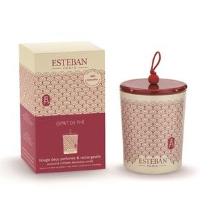 Bougie parfum Rechargeable EspritThé ESTEBAN 170 gr 234557