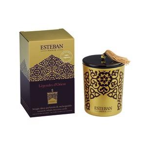 Bougie parfum Rechargeable Légendes d'Orient ESTEBAN 171 gr 234558