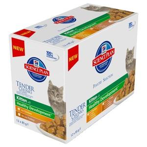 Pâtée féline kitten multipack 4 saveurs 12 x 85 g 234656