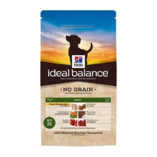 Croquettes canine adulte idéal balance sans céréales au poulet 2 kg 234703