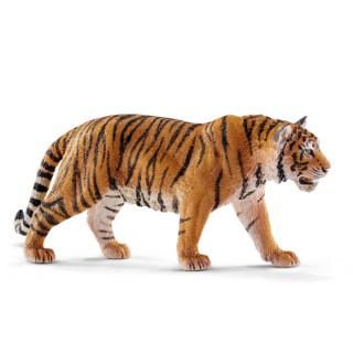 Figurine Tigre du Bengale mâle Série Animaux Sauvages 13x3x6 cm 245545
