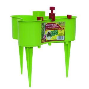 Réservoir 2L système de goutte à goutte pour tuteur à tomate - vert anis 245639