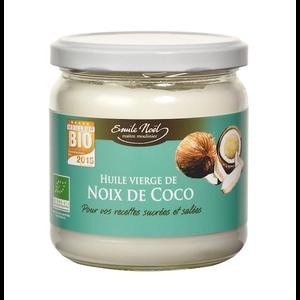 Huile vierge coco bio 340 ml 340 ml EMILE NOEL 245880