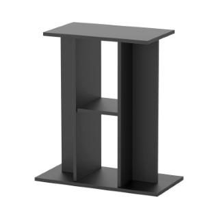 meuble standard 60 noir pour aquarium 60 x 30 x 70 cm