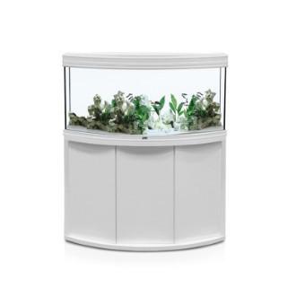 Aquarium fusion horizon 120 coloris blanc 120 x 50 x 60 cm 246062