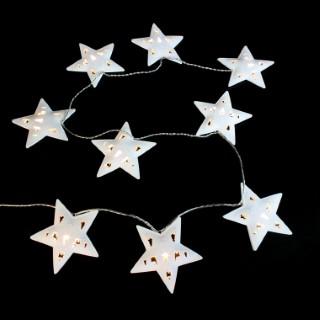 Guirlande bois Christmas Star 3,6 m 246119