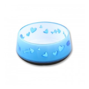 Bol chat bleu 300 ml 246203