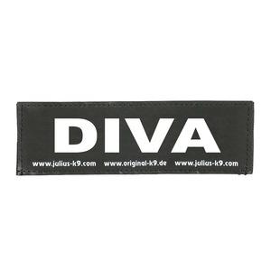 Label diva pour harnais julius taille baby 2 et mini 246369