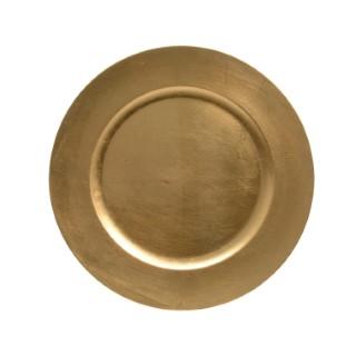 Assiette déco en plastique 33 cm de diamètre 247274