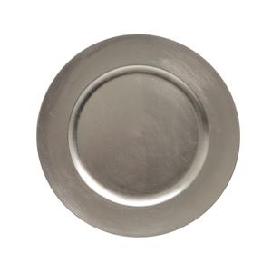 Assiette déco plastique Ø33 cm 247275