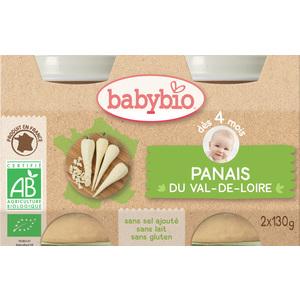 Petits pots de panais Babybio 2 x 130 g 248212
