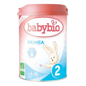 Lait infantile Babybio 2e âge primea bio 900 g 248230