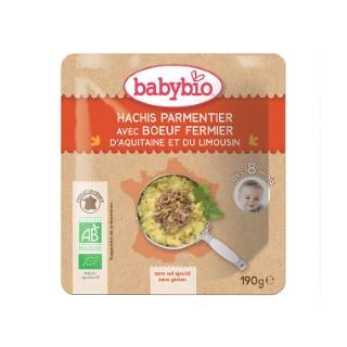 Menu du jour hachis parmentier de bœuf Babybio 190 g 248238