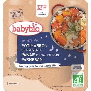 Risotto de potimarron bonne nuit Babybio 190 g 248239