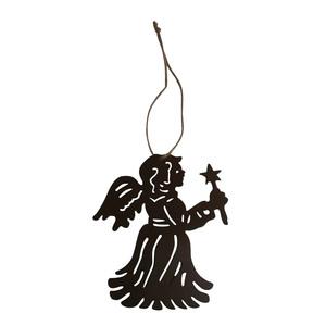 Ange à suspendre cuivre/or 249394