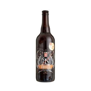 Bière ambrée 75 cl - Les Brasseurs Savoyards 250898