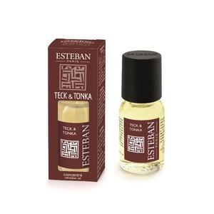 Concentré de Parfum Teck et Tonka Esteban 15 ml 251407