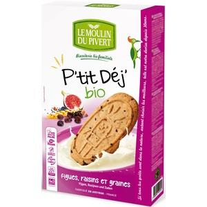 Biscuit P'tit Déj Figues Raisins et Graines bio - 190 gr 253654