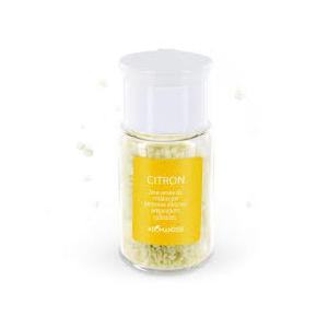 Cristaux d'huiles essentielles au citron bio en boite de 10 g 254938