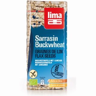 Galette de sarrasin graine de lin en sachet de 130 g 254949
