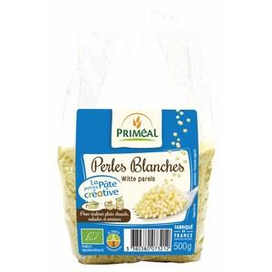 Perles blanches bio - 500 gr 255581