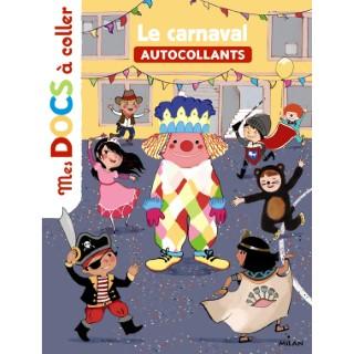 Le Carnaval Mes Docs à Coller dès 3 ans Éditions Milan 256086
