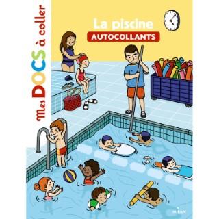 La Piscine Mes Docs à Coller dès 3 ans Éditions Milan 256087